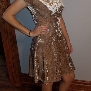 Urbanology velour dress